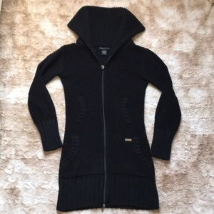 BCBG zip-up Cardigan